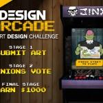 JiNX Design Arcade T-Shirt design contest