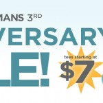 Design by Humans 3rd Anniversary Sale
