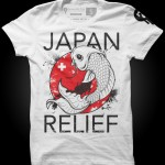 Japan Relief T-Shirt from Seventh.Ink