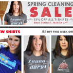 Snorg Tees Spring Cleaning Sale - 15% off