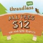 $12 Tees at Threadless Camp WannaTee Summer SALE!