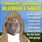 "Headline Shirts ""Summery"" Judgement Blowout Sale"