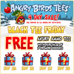 Angry Birds Black Friday Sale