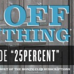 25% Off Everything at Busted Tees