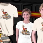 Jesse and Mr White Calvin and Hobbes Breaking Bad T-Shirt