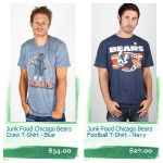 25% Off Junk Food NFL T-Shirts at Anonymous LA