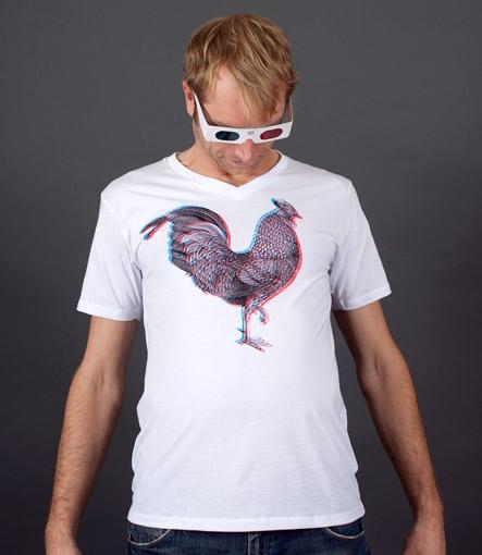 3D Cock t-Shirt