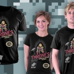 A Game of Ice & Fire T-Shirt by Drew Wise