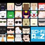 A-Z Sci Fi design