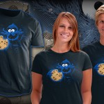 Cookiethulhu Cookie Monster Cthulhu T-Shirt