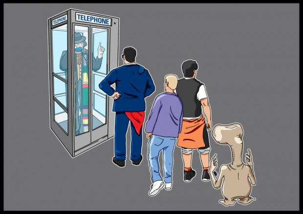 Dr Who Phone Booth T-Shirt