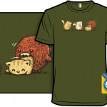 Epic Hairball T-Shirt by Walmazan