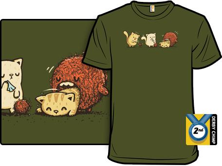 Epic Hairball T-Shirt by Walmazan