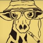 Hunter S. Giraffe T-Shirt at Headline Shirts