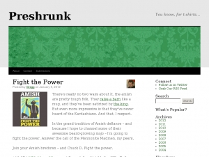 Preshrunk