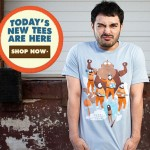 Threadless New Tees: Nerds. Oh the horror!