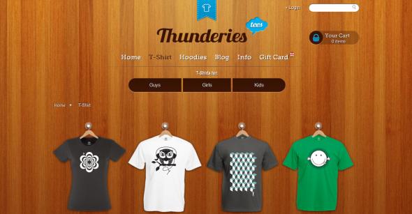 Thunderies T-Shirts
