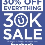 30% off at Design by Humans to celebrate 30,000 fans
