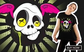 Flying Skull By Ross Cocker: £25.00 at Goodfibres