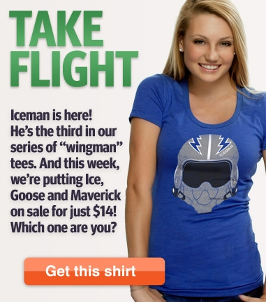 Iceman Top Gun T-Shirt