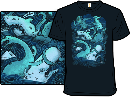 Sissy Sea Fight T-Shirt: $15 at Shirt.Woot!