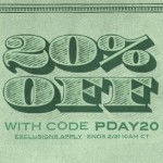 20% Off at Threadless with code PDAY20