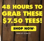 $7.50 T-Shirts at Threadless and 20% Off Hoodies