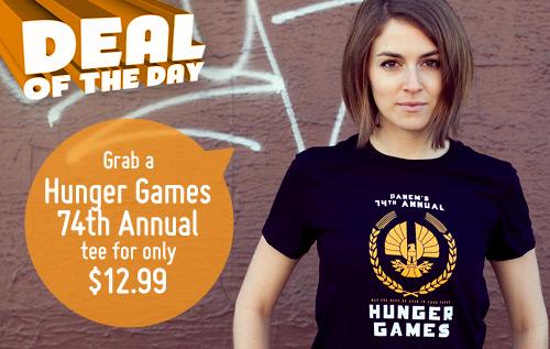 74th Annual Panem Hunger Games T-Shirt
