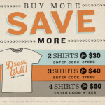 Save big at Busted Tees