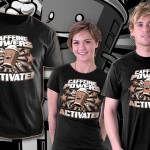 Caffeine Powers, Activate! T-Shirt