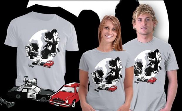 Calv and Hobbwood Calvin and Hobbes T-Shirt