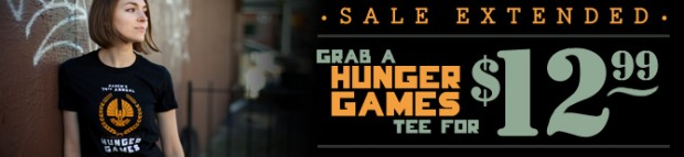 Hunger Games T-Shirt at Busted Tees