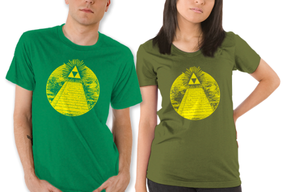 Hyrulian Seal Legend of Zelda T-Shirt