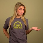 I SURVIVED THE ARENA HUNGER GAMES T-SHIRT