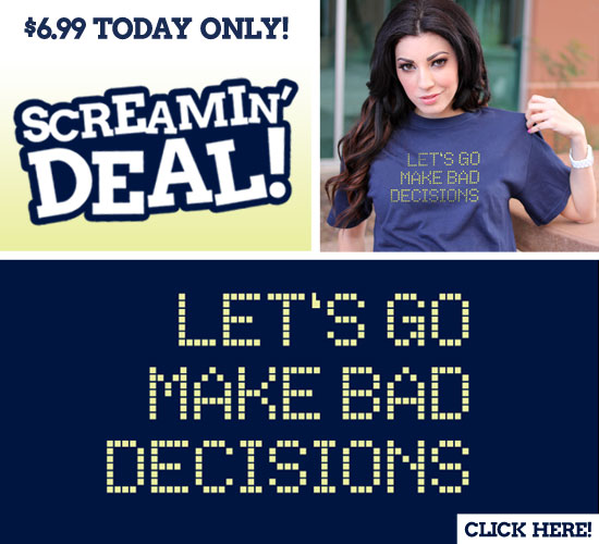 LET'S GO MAKE BAD DECISIONS T-SHIRT