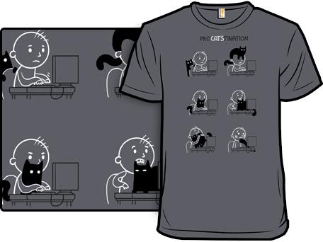 ProCATStination T-Shirt by Anna-Maria Jung