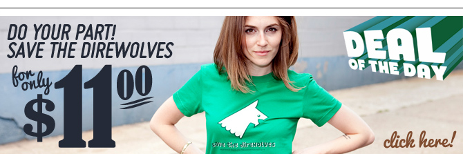 Save The Direwolves T-Shirt