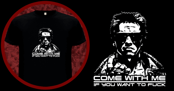 Schwarzenegger Come With Me T-Shirt