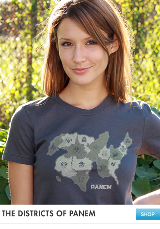 The Districts of Panem Hunger Games T-Shirt