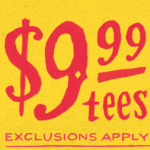 Last day of $9.99 Tees at Threadless and New Shirts!