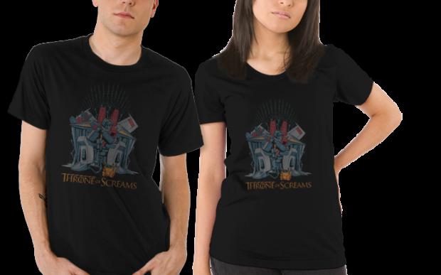 Throne of Screams T-Shirt