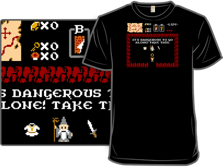 8-Bits to Rule Them All T-Shirt