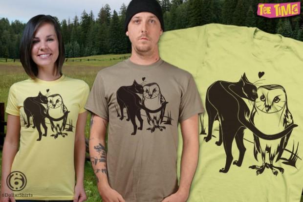 Barn Owl's Best Friend T-Shirt