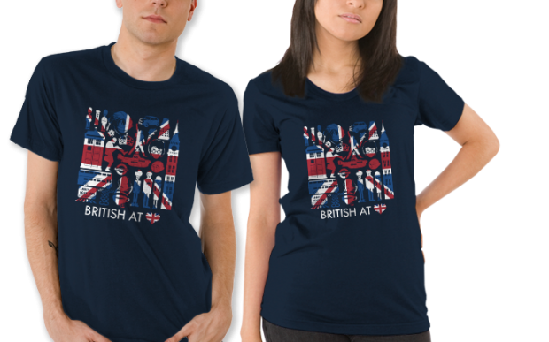 British at Heart T-Shirt