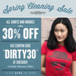Busted Tees Spring Cleaning Sale