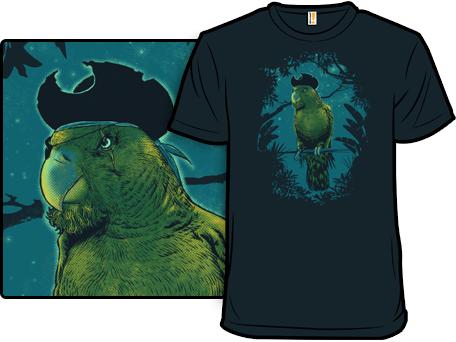 Captain Green Beard T-Shirt