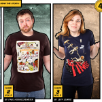 25% Off and New Comics-On Tees at Threadless
