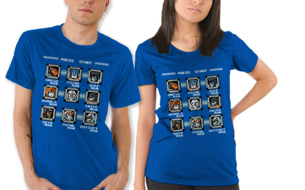 Destroy the Robot Masters T-Shirt