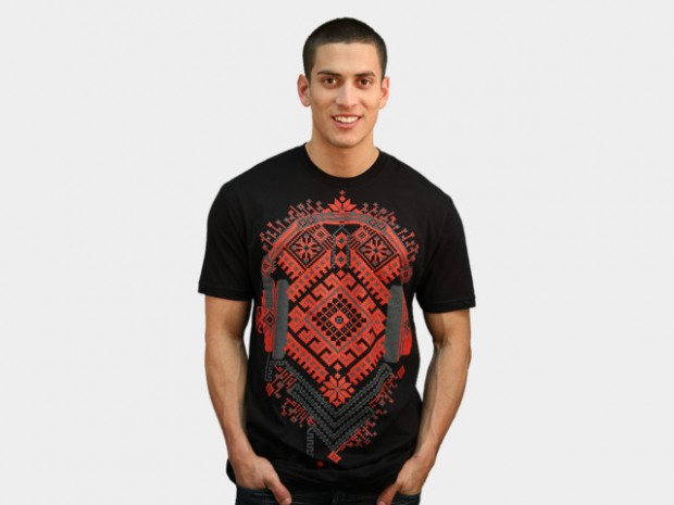 Ethno Headphones T-Shirt