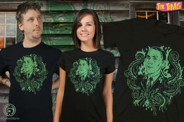 Grandpa of Eldritch Horrors HP Lovecraft T-Shirt